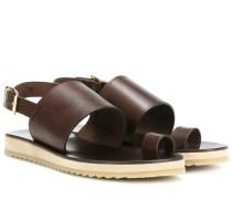 Sandalen Rome aus Leder