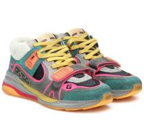 Sneakers Ultrapace aus Veloursleder
