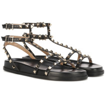 Garavani Sandalen aus Leder