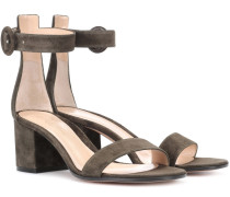 Sandalen Versilia 60 aus Veloursleder