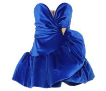 Verziertes Minikleid aus Samt