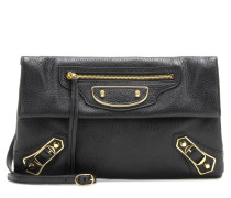 Clutch Metallic Edge Envelope Strap