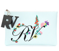 Bestickte Clutch Blooming RV