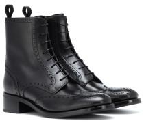 Ankle Boots Sylvie aus Leder