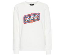 Bedrucktes Sweatshirt aus Baumwolle