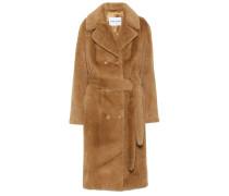 Mantel Faustine aus Faux Fur