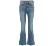 High-Rise Flared Jeans Nina