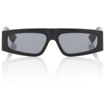 Verzierte Sonnenbrille Diorpower