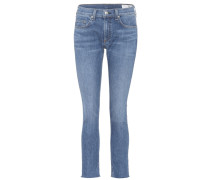 Ankle Skinny Cropped Jeans