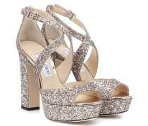 Sandalen April 120 mit Glitter