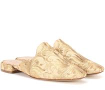 Slippers Carlotta aus Brokat