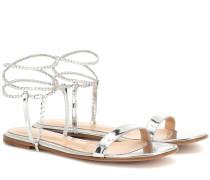 Sandalen Serena aus Metallic-Leder