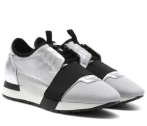 Sneakers Race Runner aus Leder
