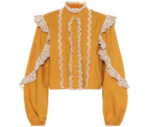 Bluse Adelaide aus Baumwollpopeline