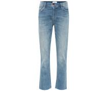 Straight Jeans The High Waist