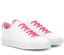 Sneakers Retro Low aus Leder