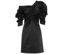 Kleid mit Raffungen aus Satin