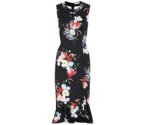 Kleid Louisa mit Print und Volants