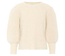 Strickpullover aus Alpaka, Baumwolle und Wolle