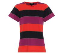 Gestreiftes T-Shirt Millbrook aus Baumwolle