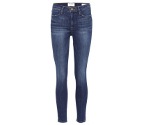 Jeans Le High Skinny aus Baumwolle