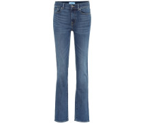 High-Rise Straight Jeans B(AIR)