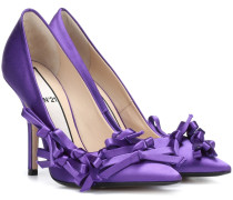 Pumps aus Satin