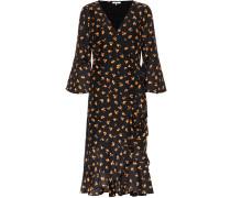 Kleid Beacon aus Baumwolle und Seide