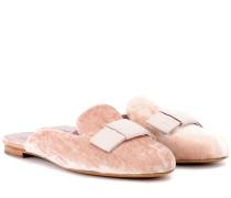 Slippers Masha aus Samt