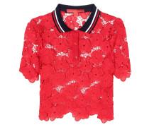 Polo-Shirt aus Spitze