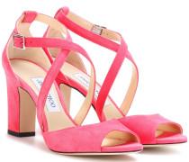 Sandalen Carrie 85 aus Veloursleder