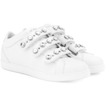 Sneakers NY aus Leder