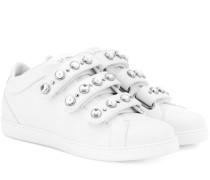 Sneakers NY aus Leder