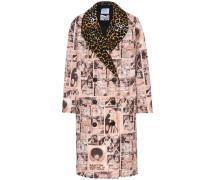Bedruckter Mantel aus Baumwolle