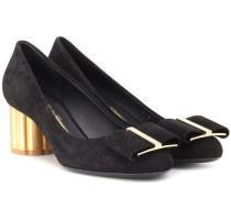 Pumps Capua aus Veloursleder