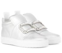 High-Top-Sneakers Sneaky Viv' aus Leder