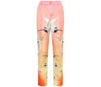 Pyjama-Hose Etere aus Seide