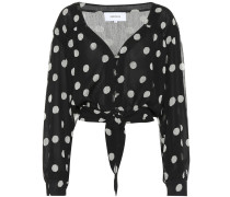 Top Amulet mit Polka-Dots