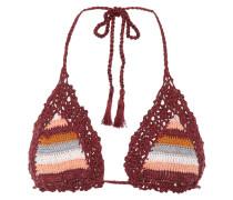 Bikini-Oberteil Marsala aus Baumwolle