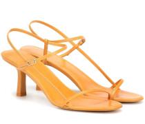 Sandalen Bare aus Leder