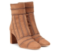 Ankle Boots Beatrice aus Veloursleder