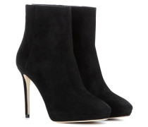 Ankle Boots Harvey 100 aus Veloursleder