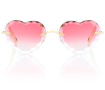 Herzförmige Sonnenbrille Rosie