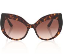 Sonnenbrille Cat-Eye in Schildpattoptik