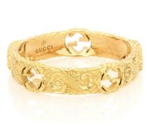 Ring Interlocking G aus 18kt Gelbgold