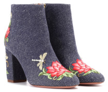 Ankle Boots Lotus 85 aus Denim