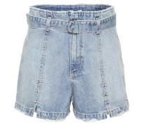 Verzierte Denim Shorts