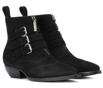 Ankle Boots Theo 45 aus Veloursleder