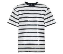 T-Shirt aus Pailletten
