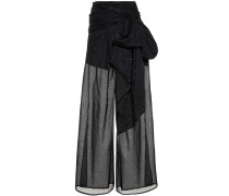 Semi-transparente Hose aus Baumwolle